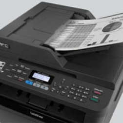 Brother mfc 7860dw all in one multi fu laser fax copier for Brother hl l2380dw document feeder