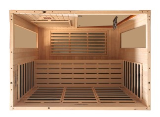 ... Dynamic Madrid 3-person FAR Infrared Sauna 8 Heating Panels 2 Dynamic