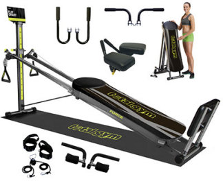 Bayou Fitness Total Trainer Pilates Reformer Home Gym Pro